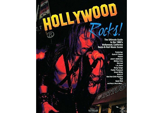 VARIOUS - Hollywood Rocks! Book+CD - (CD + Buch)