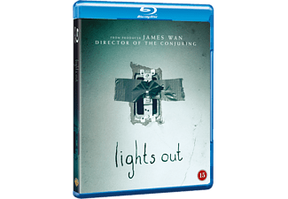 Lights Out Skräck Blu-ray