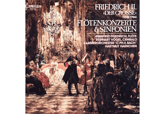 FRIEDRICH, VOGEL, KAMMERORCHESTER - FREDERICK II: FLUTE CTO 1 & 3, SY I - (CD)