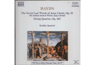 Kodaly Quartet - The Seven Last Words Of Jesus Christ, Op.51, String Quartet - (CD)