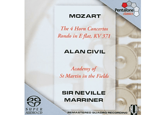 Sir Neville Marriner, Civil,A./Marriner,N./AMF - 4 Hornkonzerte KV 371 - (SACD Hybrid)