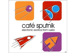 VARIOUS - Cafe Sputnik - Electronic Exotica From Russia - (CD)