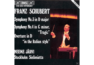 Stockholm Sinfonietta - OVERTURE IN D  IN THE ITALIAN STYLE - (CD)