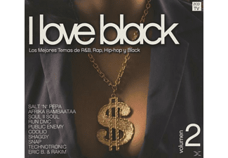 VARIOUS - I Love Black Vol.2 - (CD)