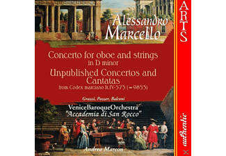 Venice Baroque Orchestra - Concerto For Oboe & String - (CD)