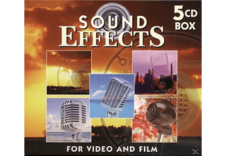 VARIOUS - Vol.2-Sound Effects for Video and Film - (CD)