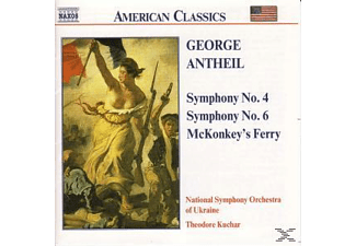 National Symphony Orchestra Of Ukra - SYMPHONIES NOS. 4 & 6 - (CD)