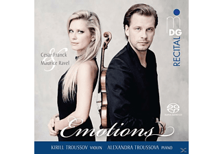 Kirill Troussov & Alexandra Troussova - Emotions - (SACD Hybrid)
