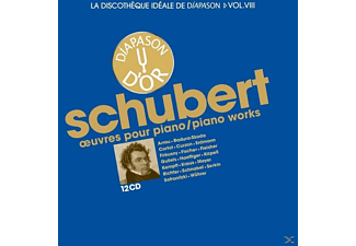 VARIOUS - Schubert Piano Works 12 CD - (CD)