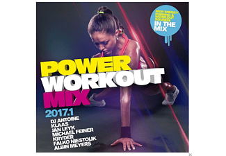 VARIOUS - Power Workout Mix 2017.1 - (CD)
