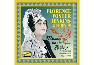 Florence Foster Jenkins - Murder On The High CS - (CD)