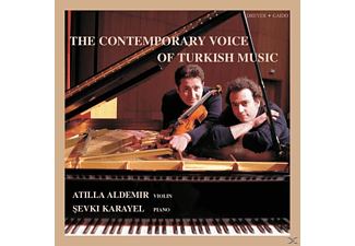 ALDEMIR,ATILLA & KARAYEL,SEVKI - The Contemporary Voice Of Turkish Music - (CD)