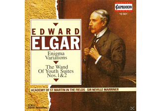 Sir Neville Marriner - Enigma-Variat./Wand Of Youth - (CD)