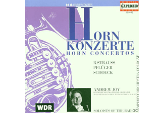 Albert, Joy, Hauschild, Krso - Hornkonzerte - (CD)