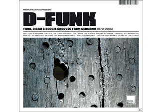 VARIOUS - D-Funk/Funk, Disco & Boogie Grooves From Germany - (CD)
