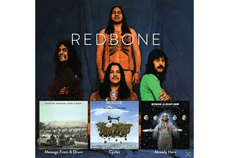 Redbone - Message From A Drum/Cycles/Already Here - (CD)