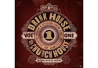VARIOUS - DRINK HOUSE TO CHURCH HOUSE - VOL 1 - (CD)