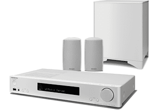 Onkyo LS5200 (W) White 2.1-Channel Home Cinema System, Dolby-DTS, HDMI 4-1, HDCP2.2-4K-HDR, Music St