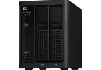 WD WD My Cloud™ Pro Series PR2100, 12 TB, NAS-Server, extern, Schwarz
