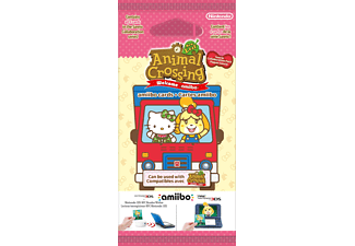 AMIIBO Animal Crossing: New Leaf + Sanrio amiibo-Karten 6er Pack Sammelkarten