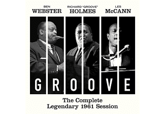 "Ben Webster, Richard ""Groove"" Holmes, Les McCann - Complete Legendary 1961 Session (CD)"