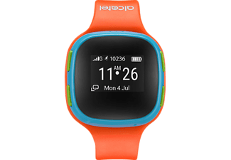ALCATEL  SW10 Move Time Kids, Smartwatch, 217.4 mm, thermoplastisches Polyurethan, Orange