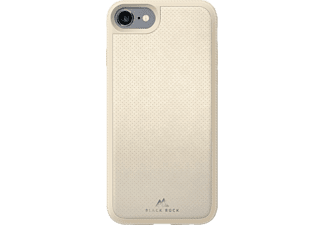 BLACK ROCK Leather Mesh Cover iPhone  6 / 6s / 7 / 8 Ivoor
