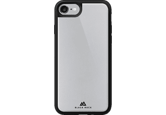 BLACK ROCK Cover Glass Tough iPhone 7 Zwart