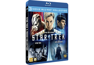 Star Trek 3 Movie Collection Science Fiction Blu-ray