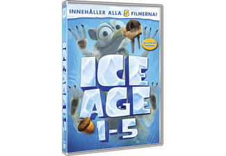 Ice Age 1-5 Box Animation / Tecknat DVD