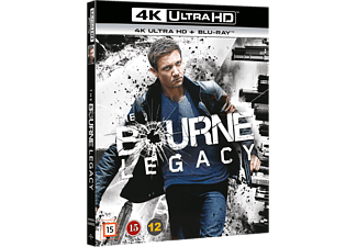 The Bourne Legacy Action 4K Ultra HD Blu-ray
