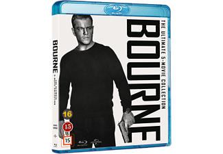 Bourne 1-5 Collection Action Blu-ray