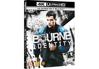 The Bourne Identity Action 4K Ultra HD Blu-ray