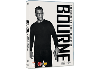 Bourne 1-5 Collection Action DVD