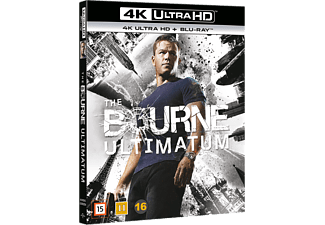 The Bourne Ultimatum Action 4K Ultra HD Blu-ray