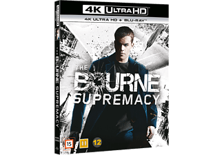The Bourne Supremacy Action 4K Ultra HD Blu-ray