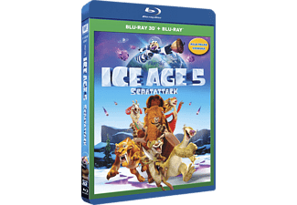 Ice Age: Scratattack  3D BD & 2D BD, Blu-Ray