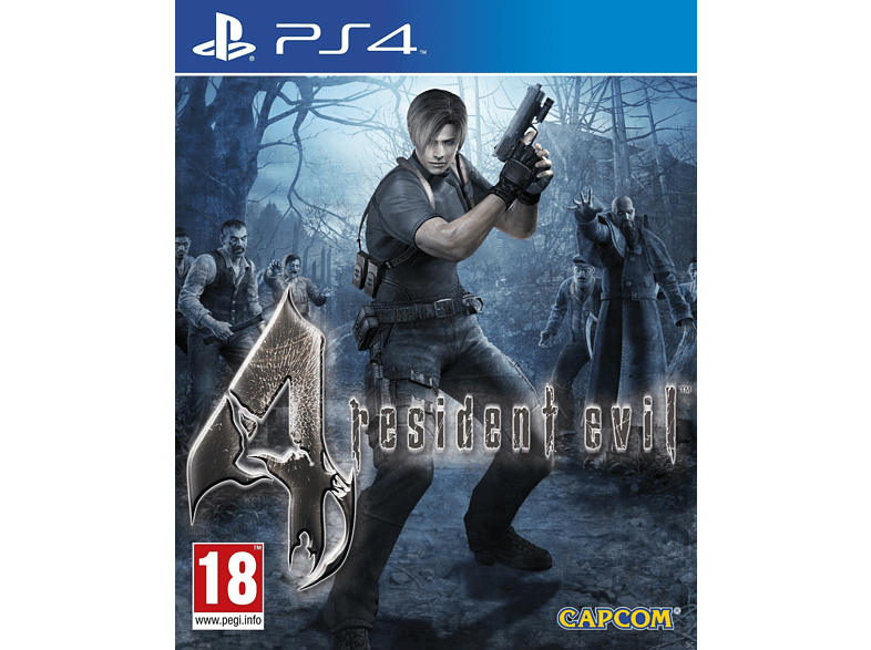 Resident Evil 4 PlayStation 4 gaming games ps4 games