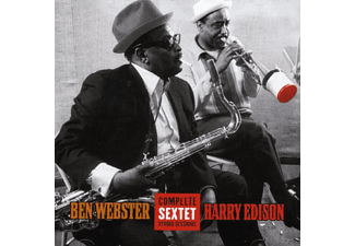 "Ben Webster, Harry ""Sweets"" Edison - Complete Sextet Studio Sessions (CD)"