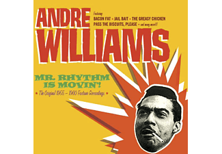 Andre Williams - Mr. Rhythm Is Movin'! (CD)