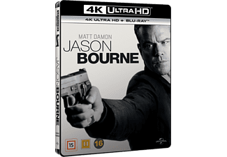 Jason Bourne Action 4K Ultra HD Blu-ray