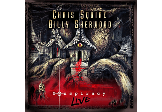 Squire, Chris / Sherwood, Billy - Conspiracy Live CD/DVD - (CD + DVD Video)