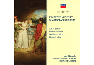 April Cantelo, English Chamber Orchestra - Shakespeare-Vertonungen des 18.Jahrhunderts - (CD)