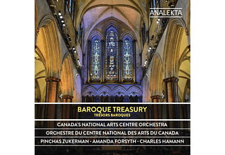 Zukerman,P./Forsyth,A./Canada's Nat.Arts Centre O - Baroque Treasures - (CD)
