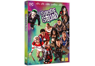 Suicide Squad Action DVD