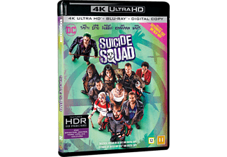 Suicide Squad Action 4K Ultra HD Blu-ray