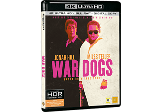 War Dogs Komedi 4K Ultra HD Blu-ray