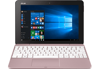 ASUS T101HA-GR012T, Convertible mit 10.1 Zoll, 128 GB Speicher, 2 GB RAM, Atom™ x5 Prozessor, Windows® 10 Home (64 Bit), Rose Gold