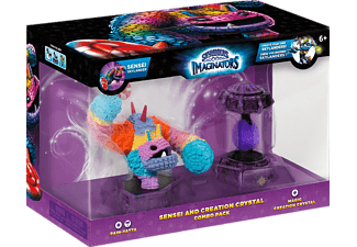 SKYLANDERS Skylanders Imaginators: Combo Pack Sensei and Creation Crystal (Pain-Yatta, Magic Crystal) Spielfigur