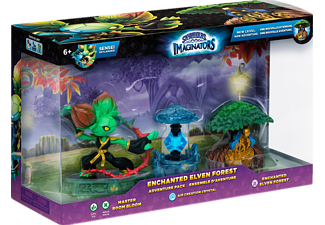 SKYLANDERS Skylanders Imaginators: Adventure Pack Enchanted Elven Forest (Boom Bloom, Crystal, Elven Forest) Spielfiguren